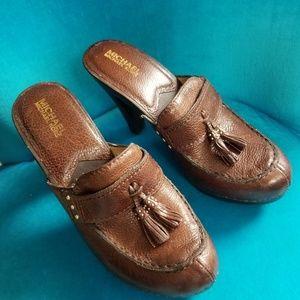 Michael Kors Leather Mule / Clog